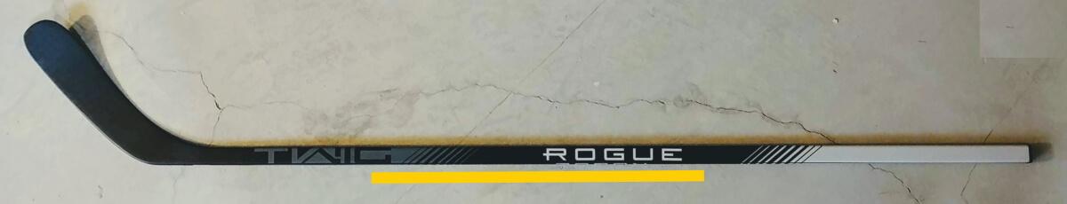 Mid kick Rogue hockey stick