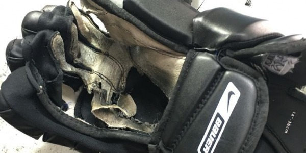 Reduce Hockey Glove Palm Wear and Tear